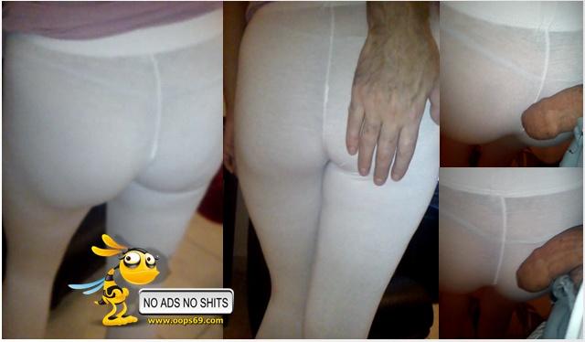Groping ass