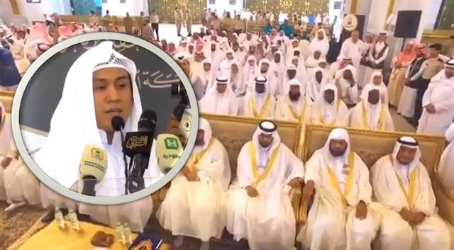 Pemuda Indonesia Jadi Imam Masjidil Haram