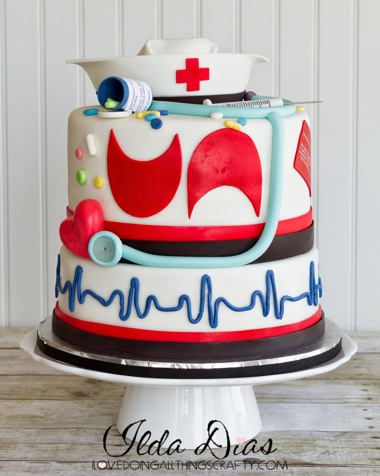 Birthday Nurse Cake