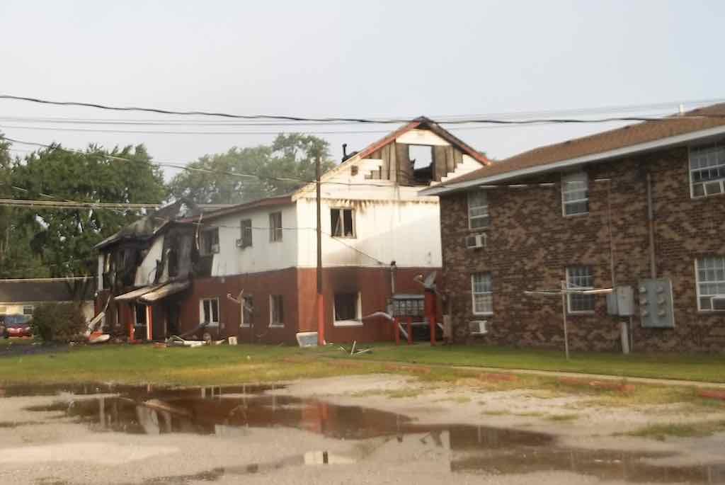 Carnegie Park Apartments Fire