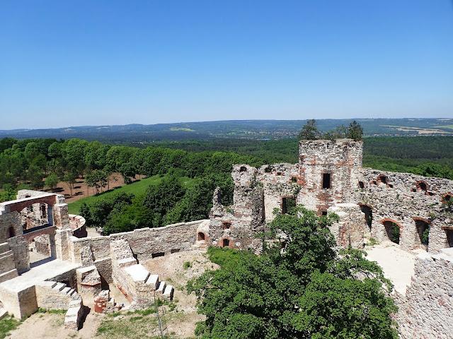 Zamek Tenczyn w Rudnie (maj 2017)