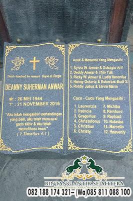 Model Batu Nisan Minimalis, Harga Nisan Kuburan Granit, Batu Nisan Untuk Kuburan
