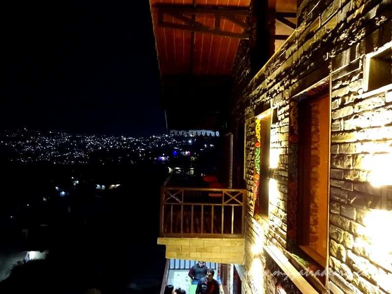 View from The Himalayan Bungalow Boutique homestay Almora