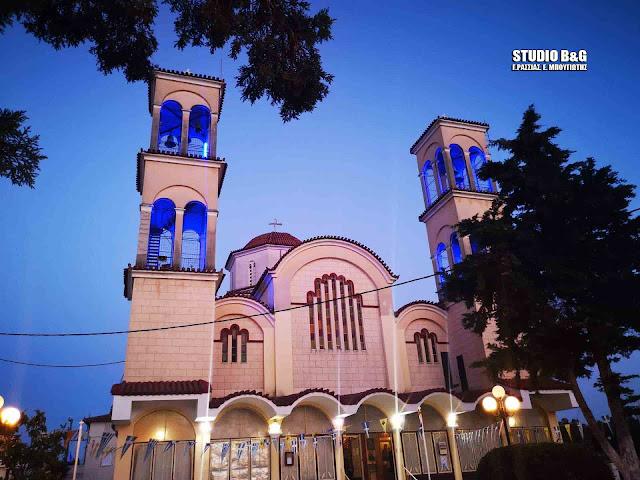 Ζωντανή μετάδοση από την Αγ. Ειρήνη Ν. Κίου Αργολίδας της Δ΄ Στάσης των Χαιρετισμών στην Παναγία (βίντεο)