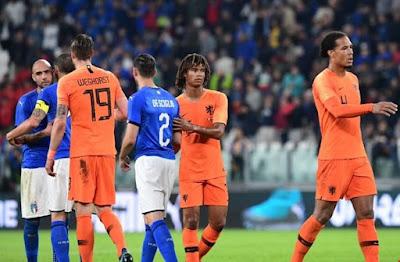 التشكيل الرسمى للفريقين لمباراة هولندا ضد إيطاليا فى دورى الأمم الأوروبية