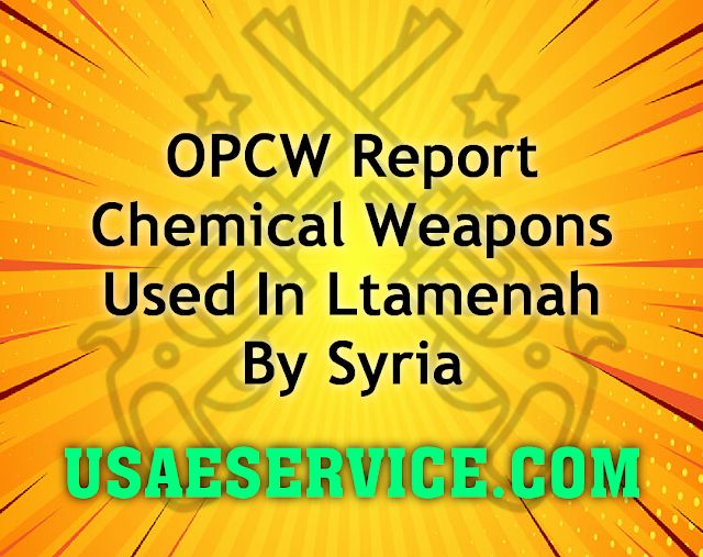 United states OPCW Report