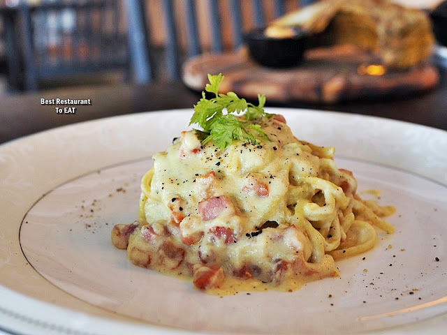 Passione Ristorante Italiano New Menu 2020 - Spaghetti Carbonara With Berkshire Bacon