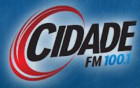 ouvir a Rádio Cidade FM 100,1