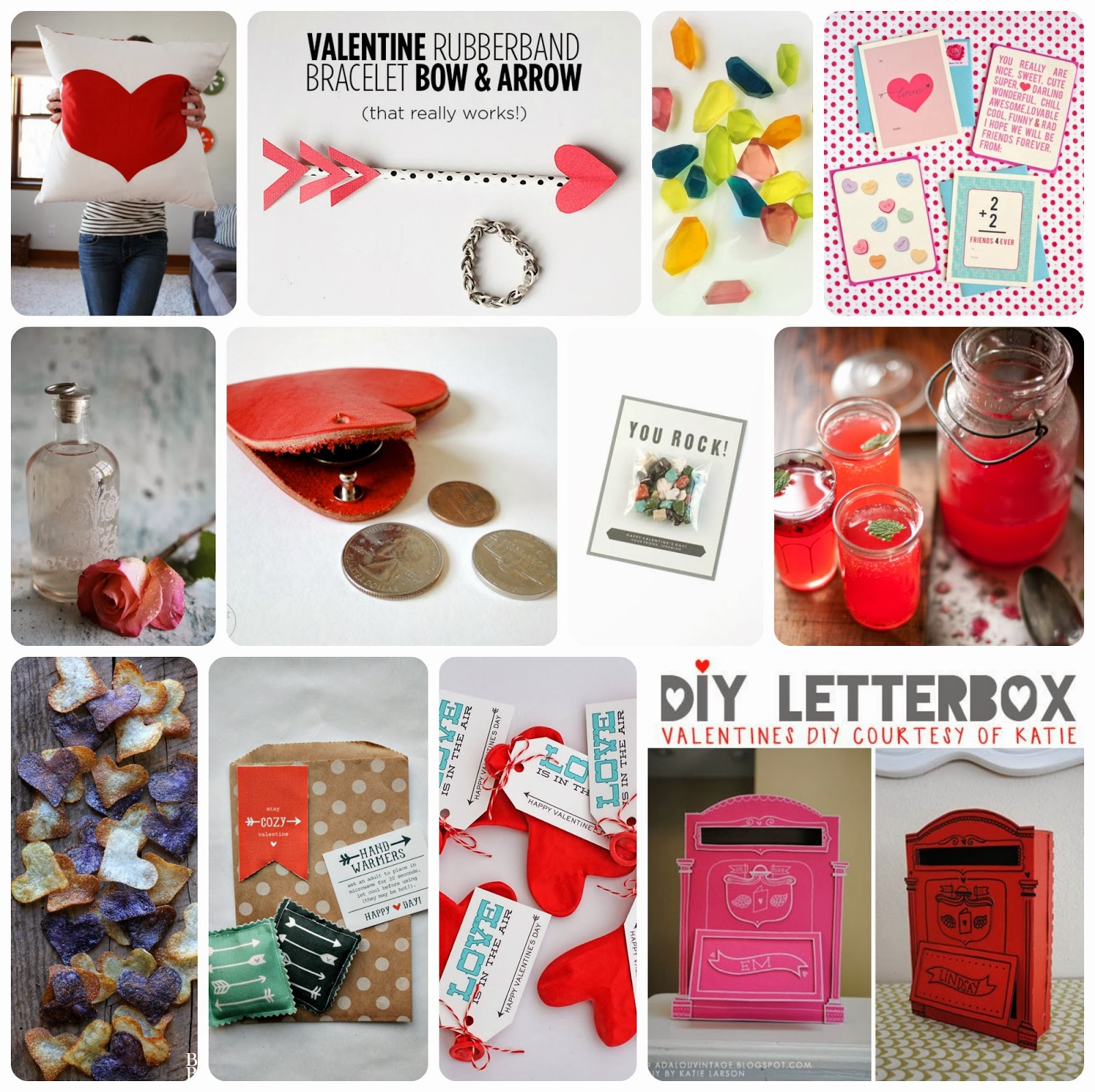 12 Projects Lots Of Valentine Y Things To Make
