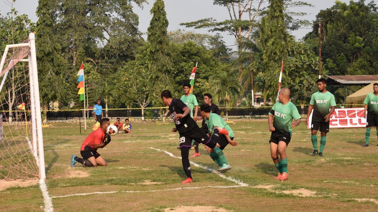 Danyonif 611/Awl Buka Turnamen Sepak Bola Awang Long Cup Ke-XVIII