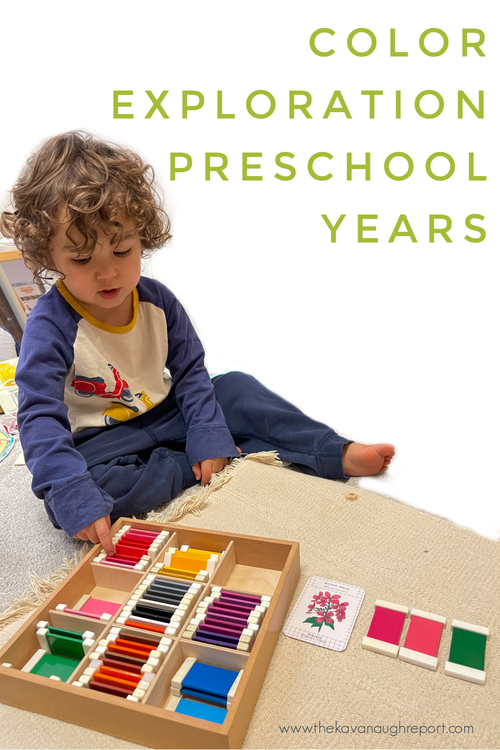 Montessori home. Here's a look at activity ideas for 4-year-olds that explore colors more deeply.