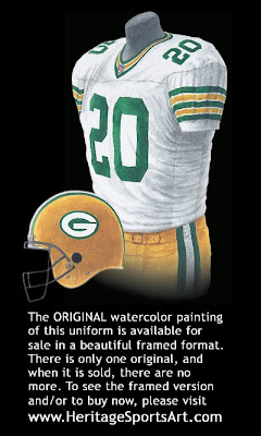 Green Bay Packers 1996 uniform
