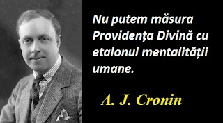 Citatul zilei: 18 iulie - A. J. Cronin