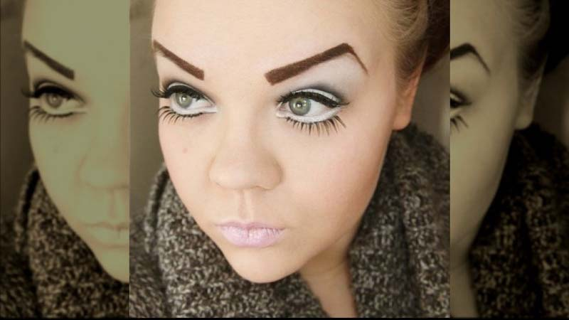 Eyebrow shapes that are totally aging you