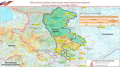 Armenia & Azerbaijan in fresh standoff over land-mined border
