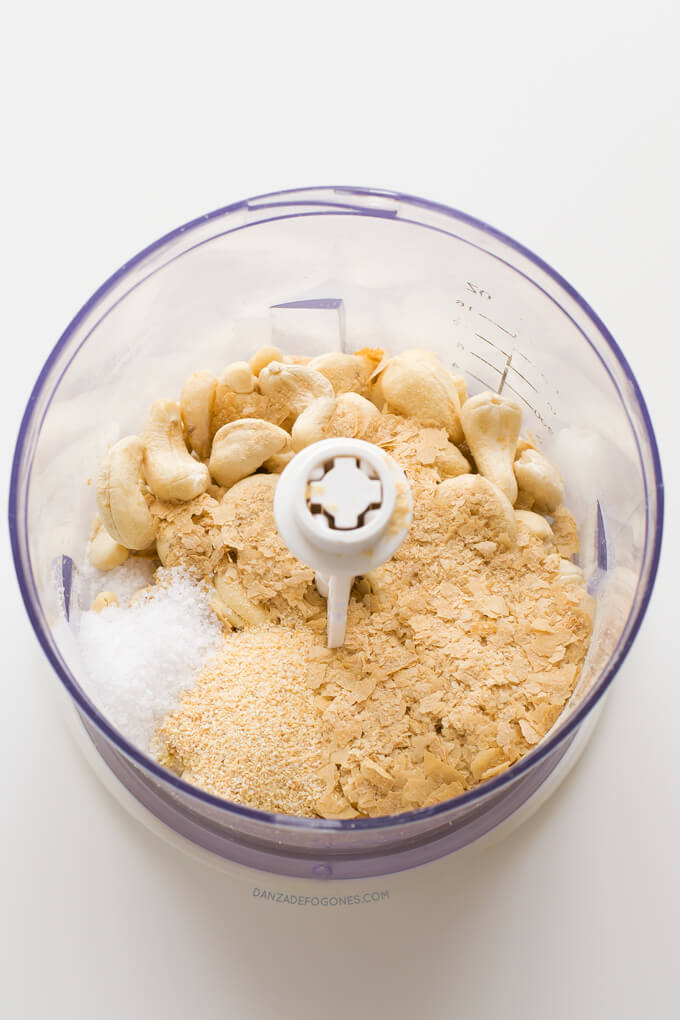 Vegan Parmesan Cheese Ingredients | danceofstoves.com