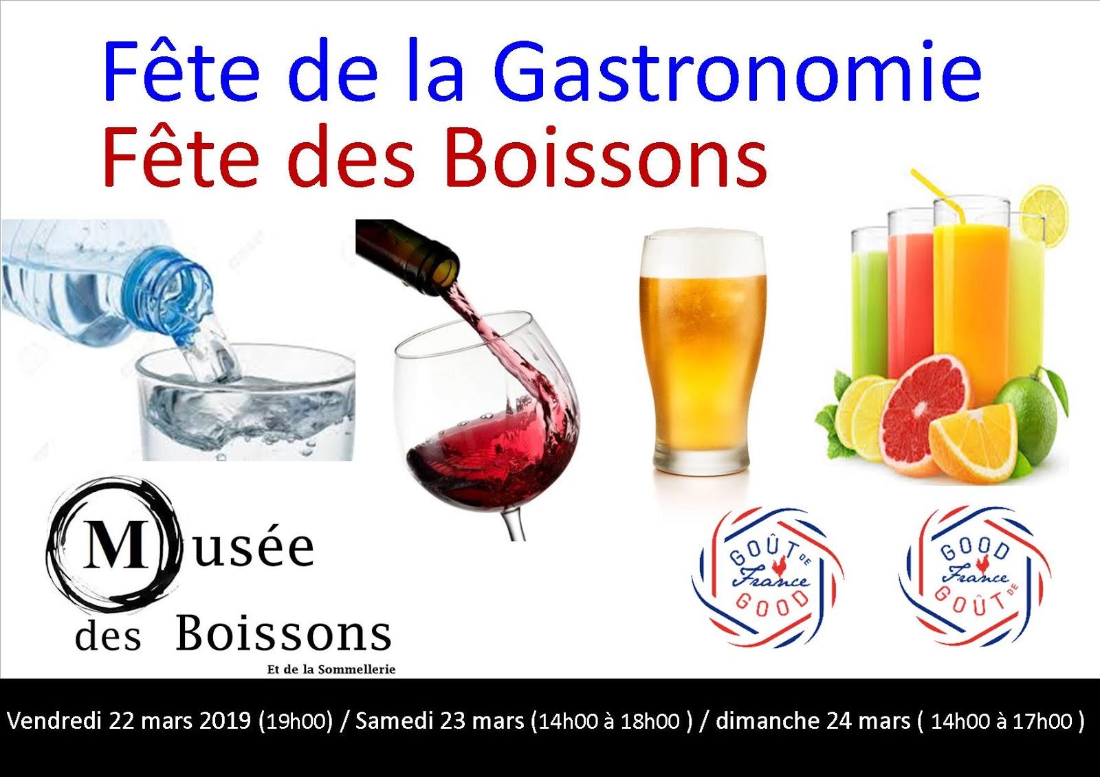 Blog Du Musee Des Boissons Gout De France 2019 Au Musee