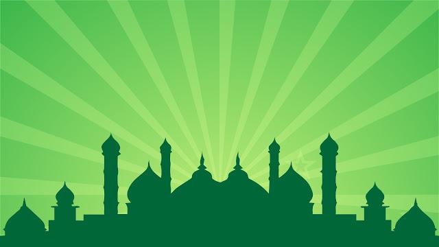 masjid bersinar
