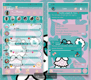 Hello Kitty Theme For YOWhatsApp & Fouad WhatsApp By Thania