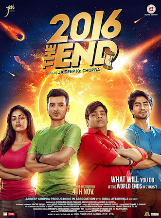 Poster Of Hindi Movie 2016 The End 2017 Full HD Movie Free Download 720P Watch Online