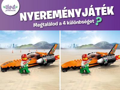 Liliput LEGO Nyereményjáték