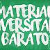 Material universitário com preços acessíveis