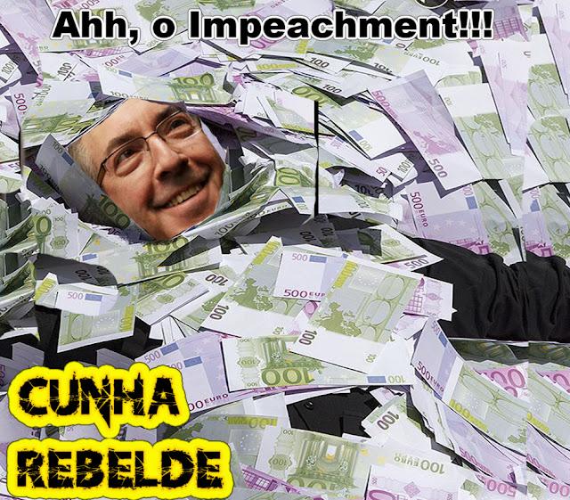 Logo após a notícia de sua prisão, na tarde da quarta-feira, 19, o ex-deputado Eduardo Cunha (PMDB-RJ) foi excluído do grupo de WhatsApp formado pela bancada do PMDB na Câmara. Apesar de ter tido o mandato cassado há mais de um mês, o peemedebista ainda era membro do grupo no aplicativo.  Segundo relatos de parlamentares do PMDB, o deputado Hildo Rocha (PMDB-MA), administrador do grupo, excluiu Cunha às 13h35, cerca de meia hora depois da prisão e após saber que a PF havia apreendido o celular do ex-deputado.  Com a exclusão, os investigadores não terão mais acesso às novas conversas da bancada, embora possam ver debates anteriores, de quando Cunha ainda era membro do grupo.