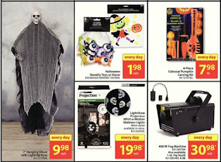 Halloween lights Walmart Oct 19 - 25, Lightshow Projection Whirl-a-Motion