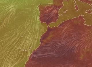 Calima Canarias y mucho calor agosto 2021