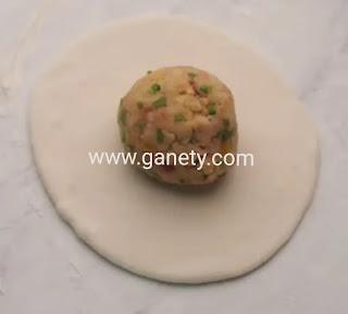 طريقة عمل فطائر البطاطس الهنديه بالصور
