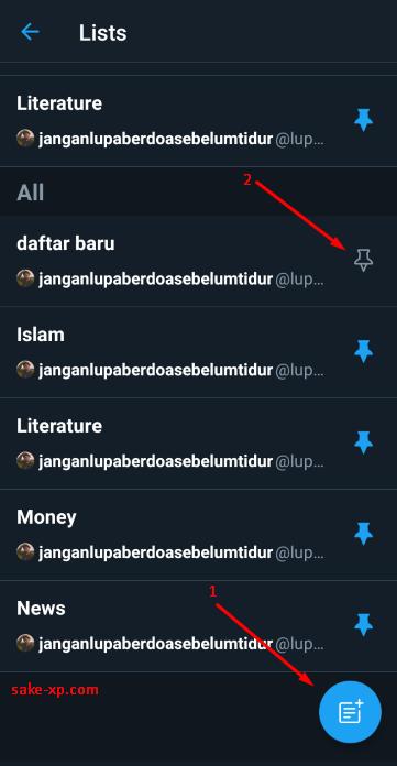Tips Gunakan Fitur List Twitter