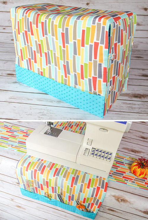 Easy Peasy Sewing Machine Cover and Mat - Free Pattern