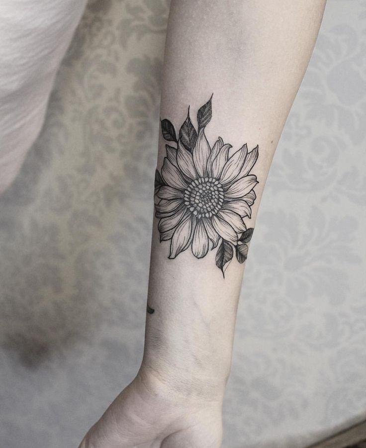 Gorgeous Sunflower Tattoos For Women - POP TATTOO