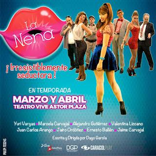 Comedia LA NENA Teatro Astor Plaza Bogotá