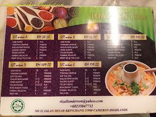 menu Idaman Aikae