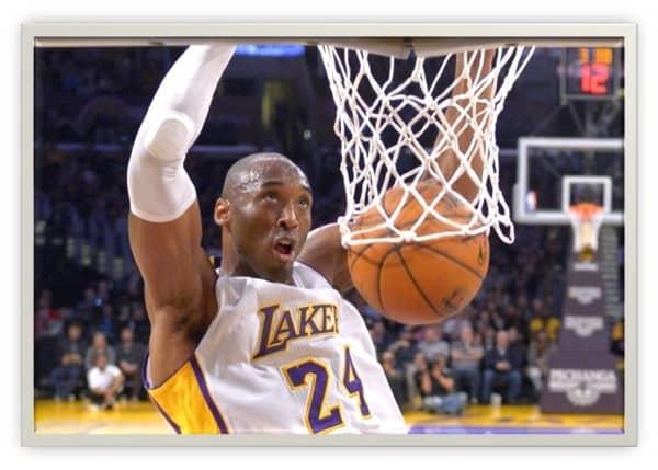 Kobe Bryant, canestro!