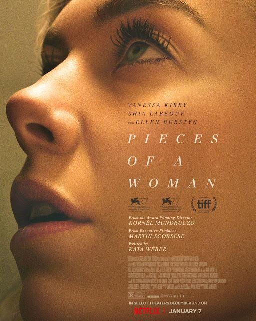 Cartel Fragmentos de una mujer