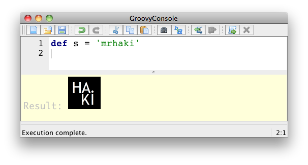 Groovy Goodness: Customize Groovy Console Visual Output - Messages