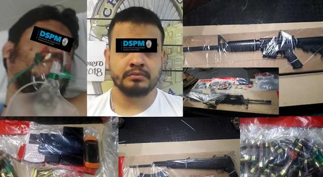 """TODO ESTO LES """"TUMBARON A LOS NARCO"""" equipo táctico, armas y cientos de cartuchos tras ataque a policías"""