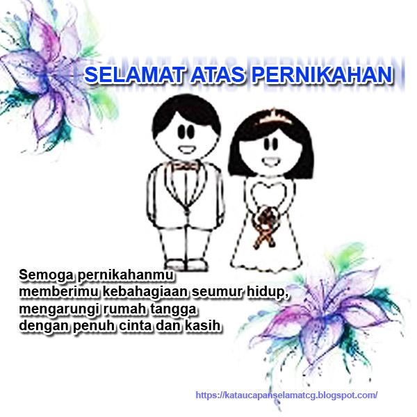 Kata Kata Ucapan Untuk Pernikahan   Katapos