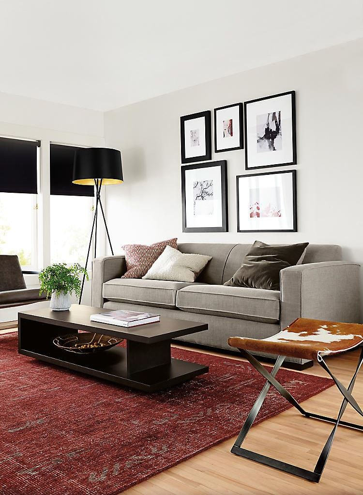 chic living room decoration idea