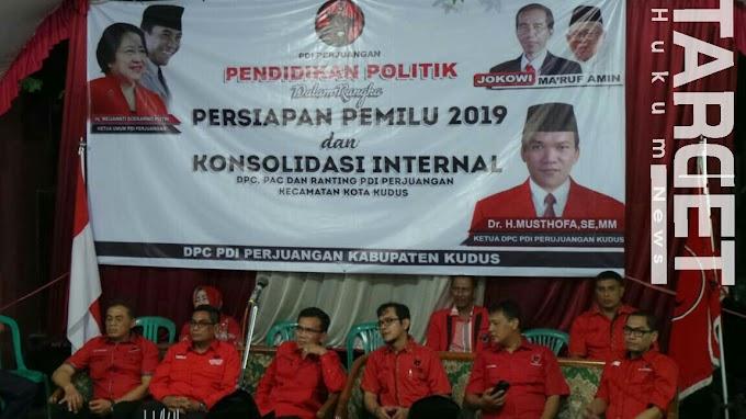 PDI Perjuangan Kudus Solid Dukung Jokowi - KH. Ma'aruf Amin