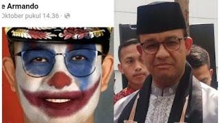 Foto Diedit Berwajah Joker, Anies Baswedan Sebut Kedengkian Tidak Ada Obatnya: dari Zaman Rasulullah