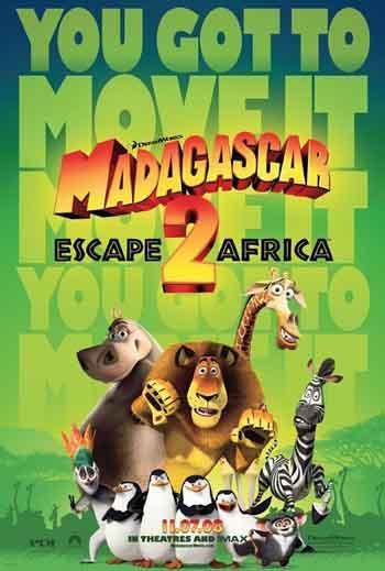 Madagascar: Escape 2 Africa 2008 480p 300MB BRRip Dual Audio