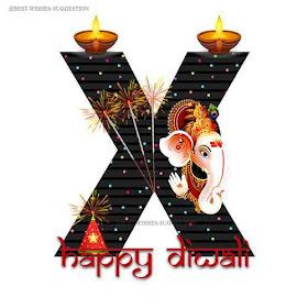 Diwali-X-Alphabet-Images