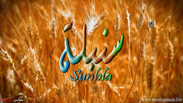 معنى اسم سنبلة وصفات حاملة هذا الاسم Sunbla
