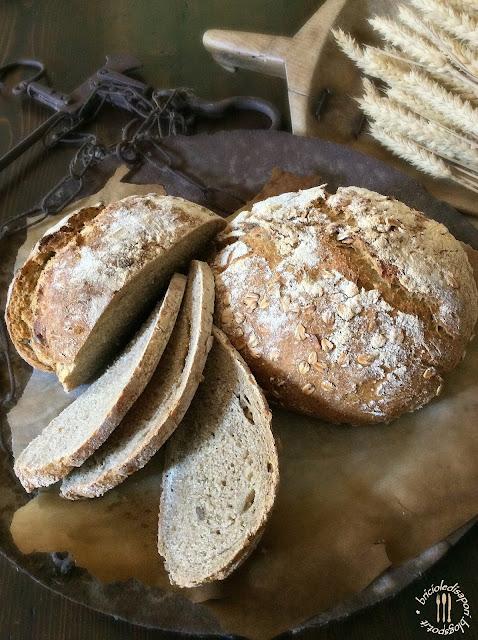 pane con farina di grano verna