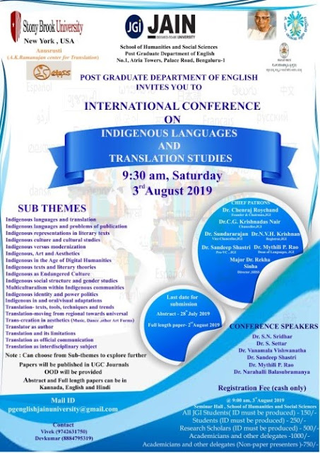 International Conference on Indigenous Languages and Translation Studies