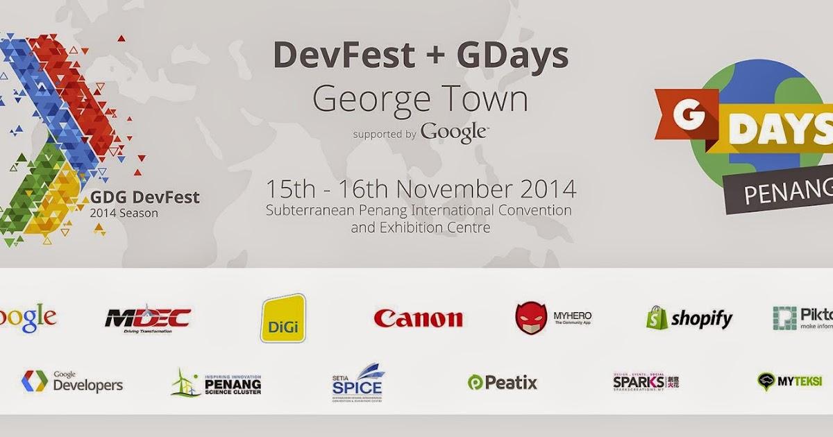 GDG George Town: DevFest George Town 2014
