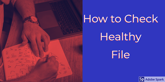 Healthy file checking ides